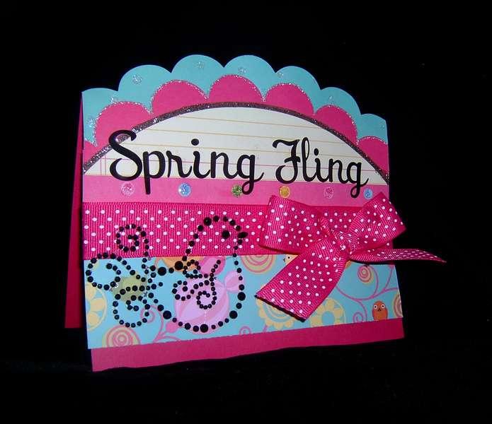 SPRING FLING (CARD)