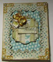 Scrapbook Weekend Retreat Card/Spellbinder's Class