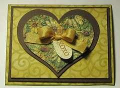Sunflower Valentine Card