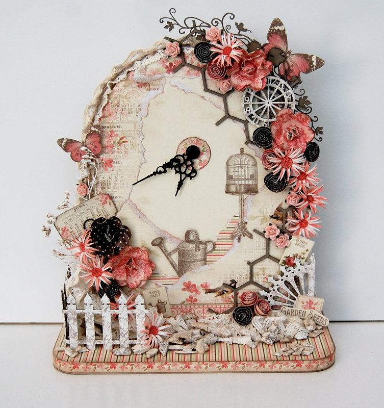 vintage garden clock *Pion Design/Imaginarium Designs*