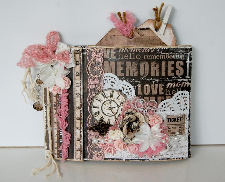 paper bag mini album