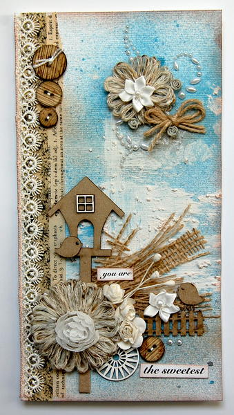you are the sweetest -card- *Dusty Attic*
