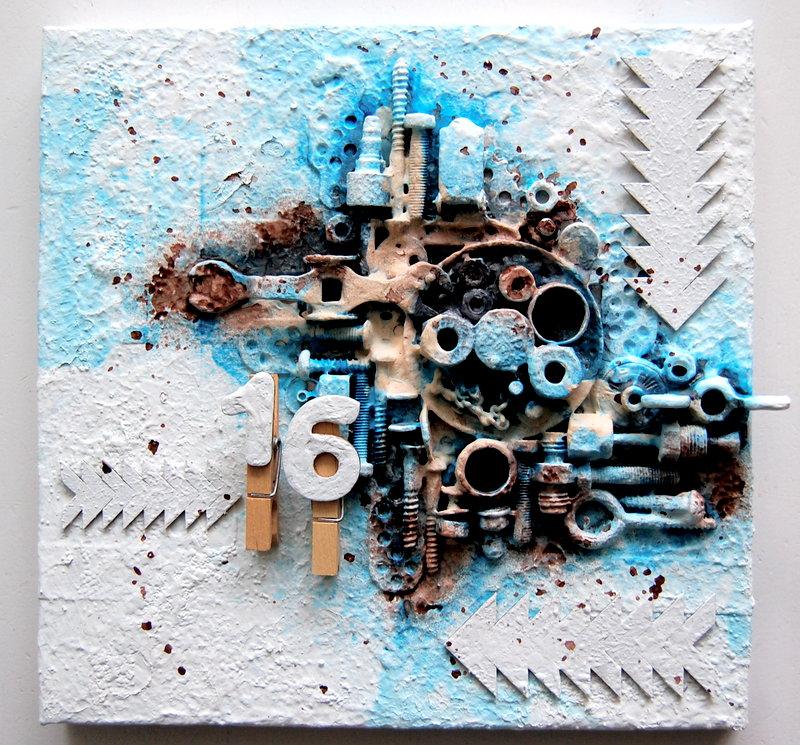 birthday gift canvas *Imaginarium Designs*