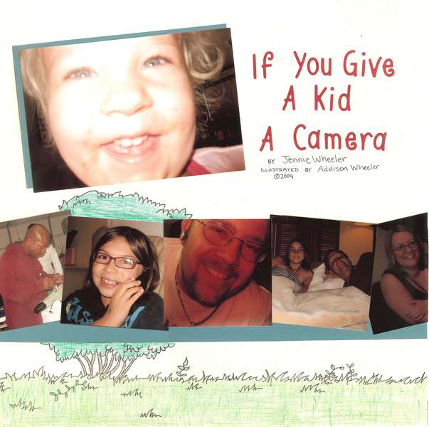 If You Give A Kid A Camera {Page 1}