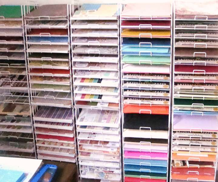 Why I don't need to buy anymore paper (except a couple of paper packs & some cardstock, & some new release &...