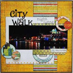 City Walk Night Lights