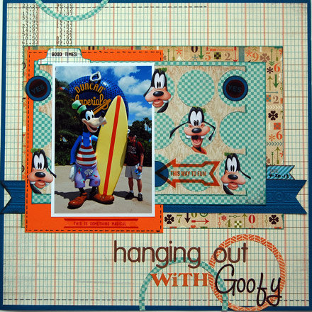 Hanging Out With Goofy