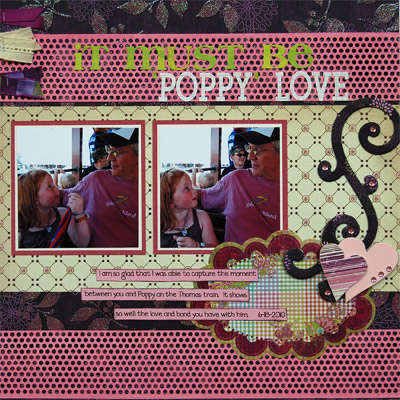 It Must Be 'Poppy' Love