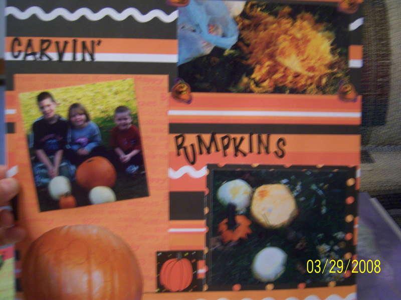 Halloween punkin' carvin'