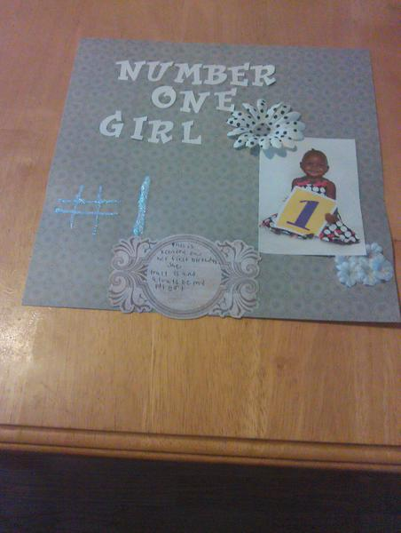 number 1 girl