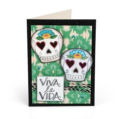 New Crafty Chica's Day of the Dead Collection from Sizzix