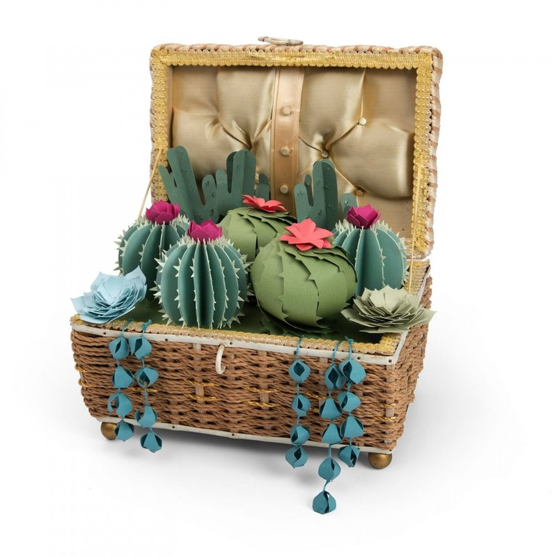 Cactus Decorative Box