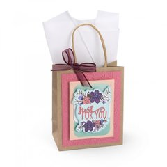 Just For You Flower Gift Bag