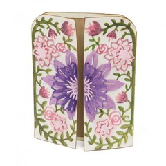 Flower Vine Gatefold Card