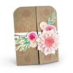 Flowers Gatefold Card