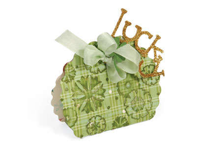 Sizzix Lucky Gift Bag by Beth Reames
