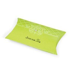 Embossed Just for You Pillow Box