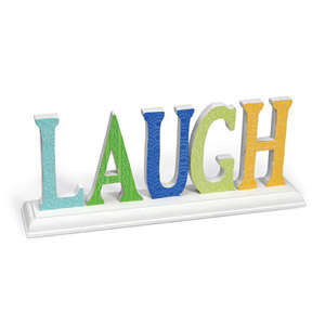 Embossed Laugh Deco by Beth Reames