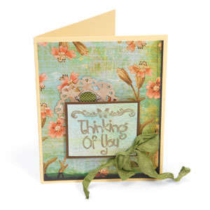 Thining of You Card by Deena Ziegler