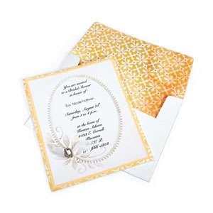 Elegant Bridal Shower Invitation #2 by Cara Mariano