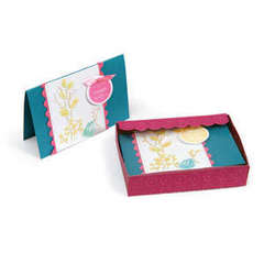 Embossed Stationery Cards in a Box by Debi Adams