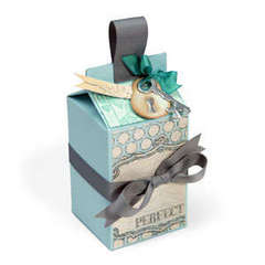 Perfect Milk Carton Gift Box by Deena Ziegler