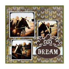 Dream Scrapbook Page #4 by Beth Reames