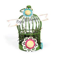 Enjoy the Moment Bird Cage by Deena Ziegler