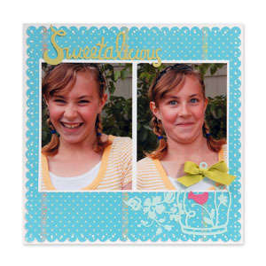 Sweetalicious Scrapbook Page by Deena Ziegler