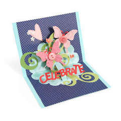 Celebrate Butterflies Pop-Up Card by Debi Adams