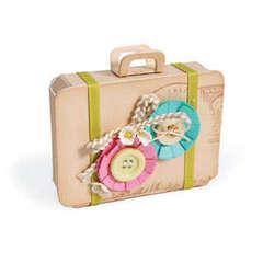 Suitecase Gift Box by Deena Ziegler
