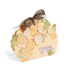 Thinking of You Flower Gift Bag by Deena Ziegler