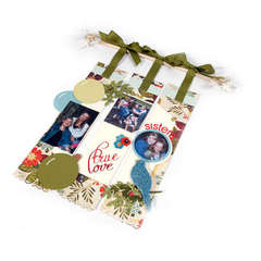 True Love Christmas Wall Decor by Debi Adams