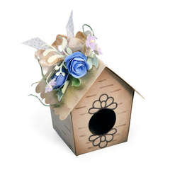 Bird House Box by Debi Adams