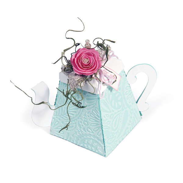 Rose Teapot Box by Beth Reames