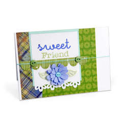 Sweet Friend Flower Card by Debi Adams