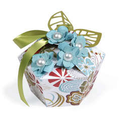 Flower & Leaf Embellishment Box by Cara Mariano