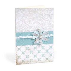 Snowflake Card by Cara Mariano