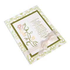Flower Vine Imagination Card by Beth Reames