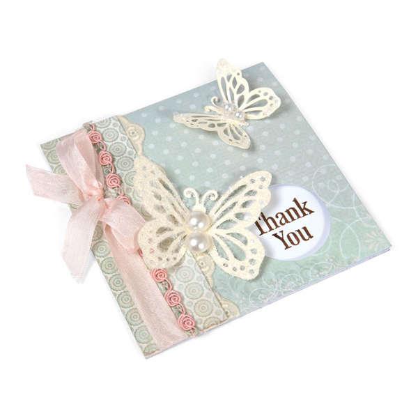 Butterflies Thank You by Debi Adams