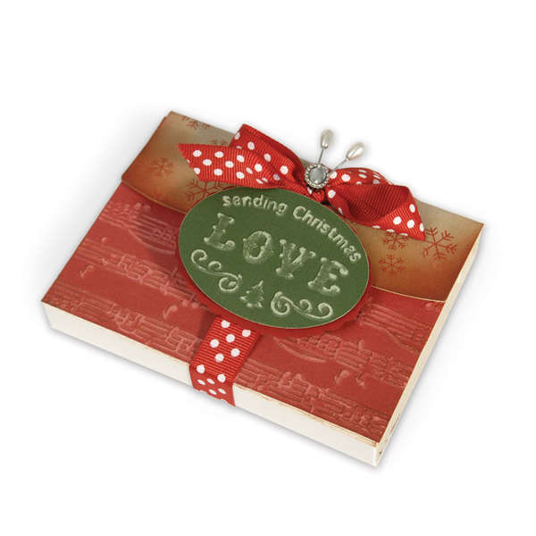 Sending Christmas Love Gift Box by Debi Adams