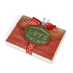 Sending Christmas Love Gift Box by Debi Adams