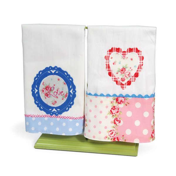 Lovely Hand Towels by Debi Adams