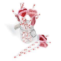Love Drinking Straws by Debi Adams