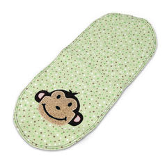 Monkey Around Burp Cloth by Linda Nitzen
