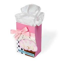 Happy Birthday Cupcake Bag by Cara Mariano