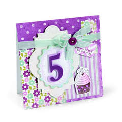 Happy Birthday Cupcake by Debi Adams