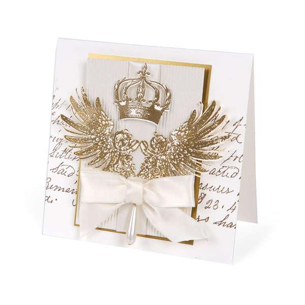 Elegant Crown & Tattered Wings by Debi Adams