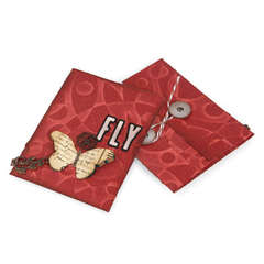 Butterfly Tri-Fold by Deena Ziegler