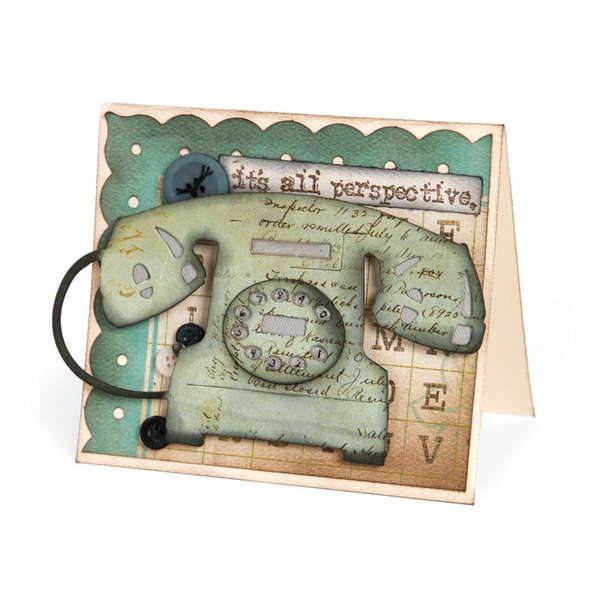 It's all Perspective Telephone Card by Deena Ziegler